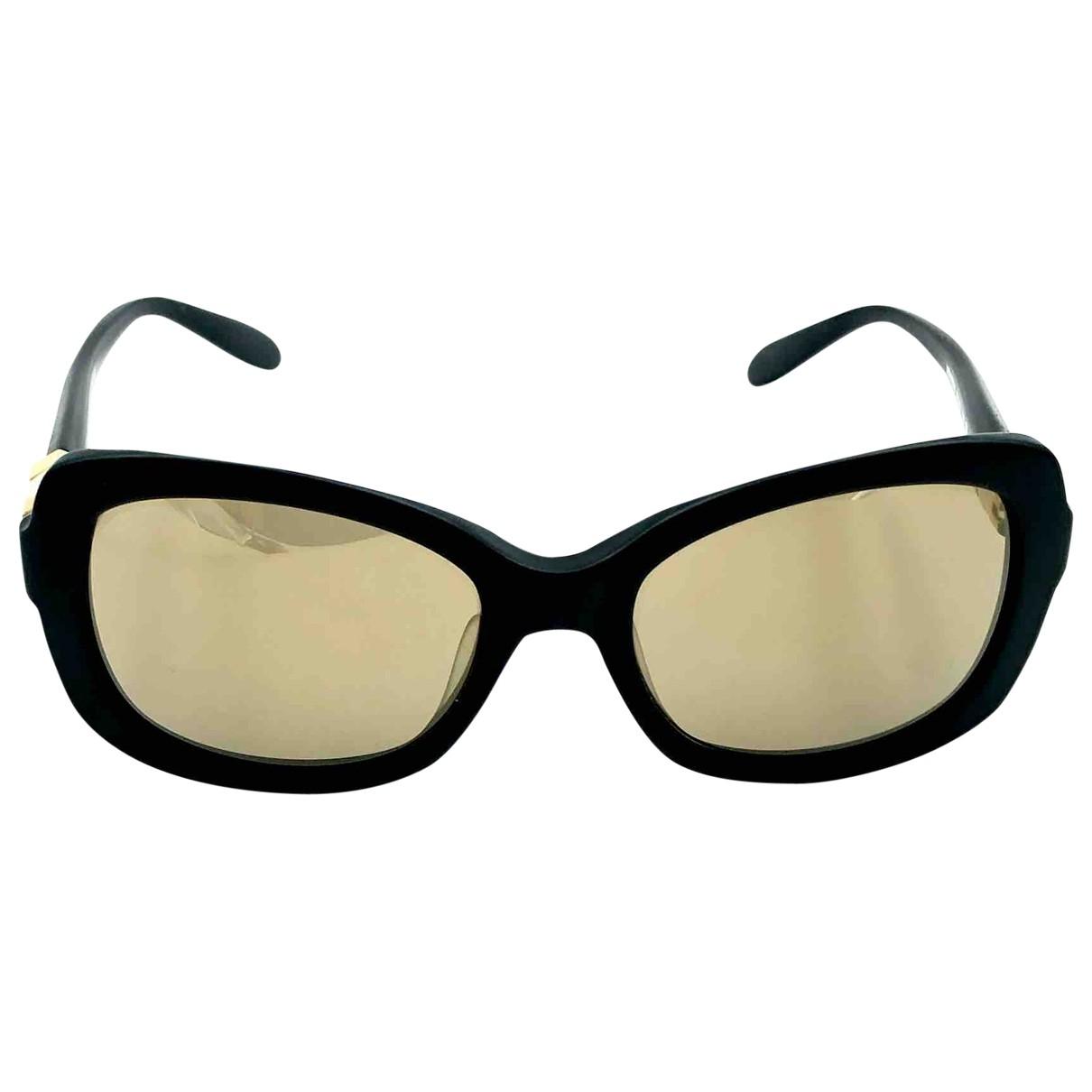 Moschino \N Sonnenbrillen in  Schwarz Kunststoff