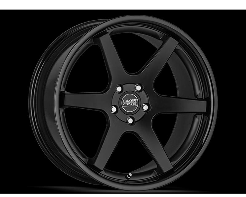 Concept One C1048 2090 30 55 MBKBK CS6 Matte Black Wheel 20x9 5x114.3 30mm