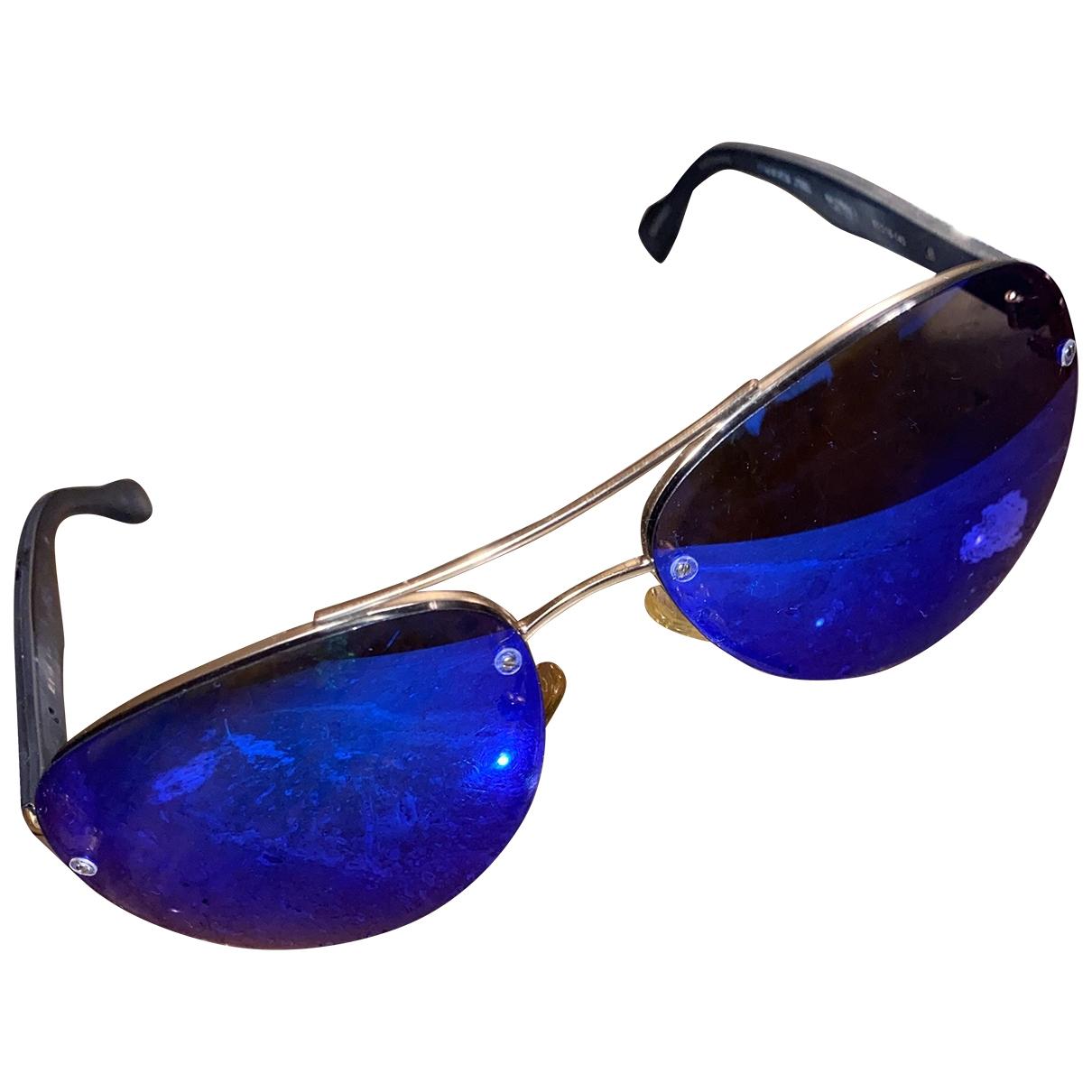 Elie Tahari \N Sonnenbrillen in  Blau Kunststoff