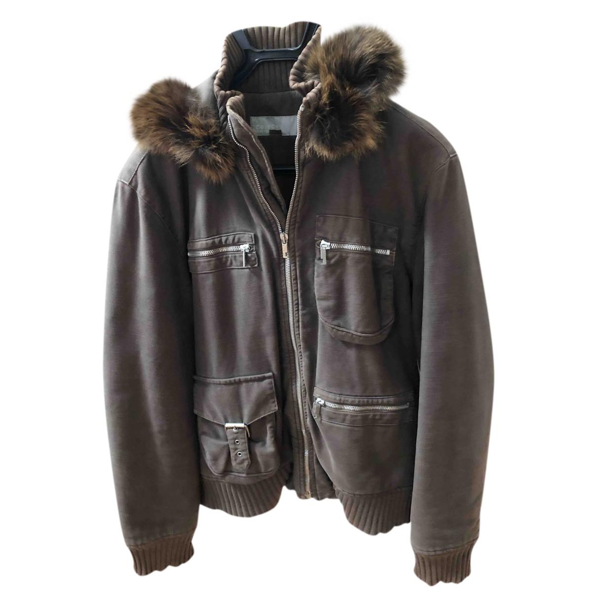 Iceberg \N Brown Cotton jacket  for Men 46 FR