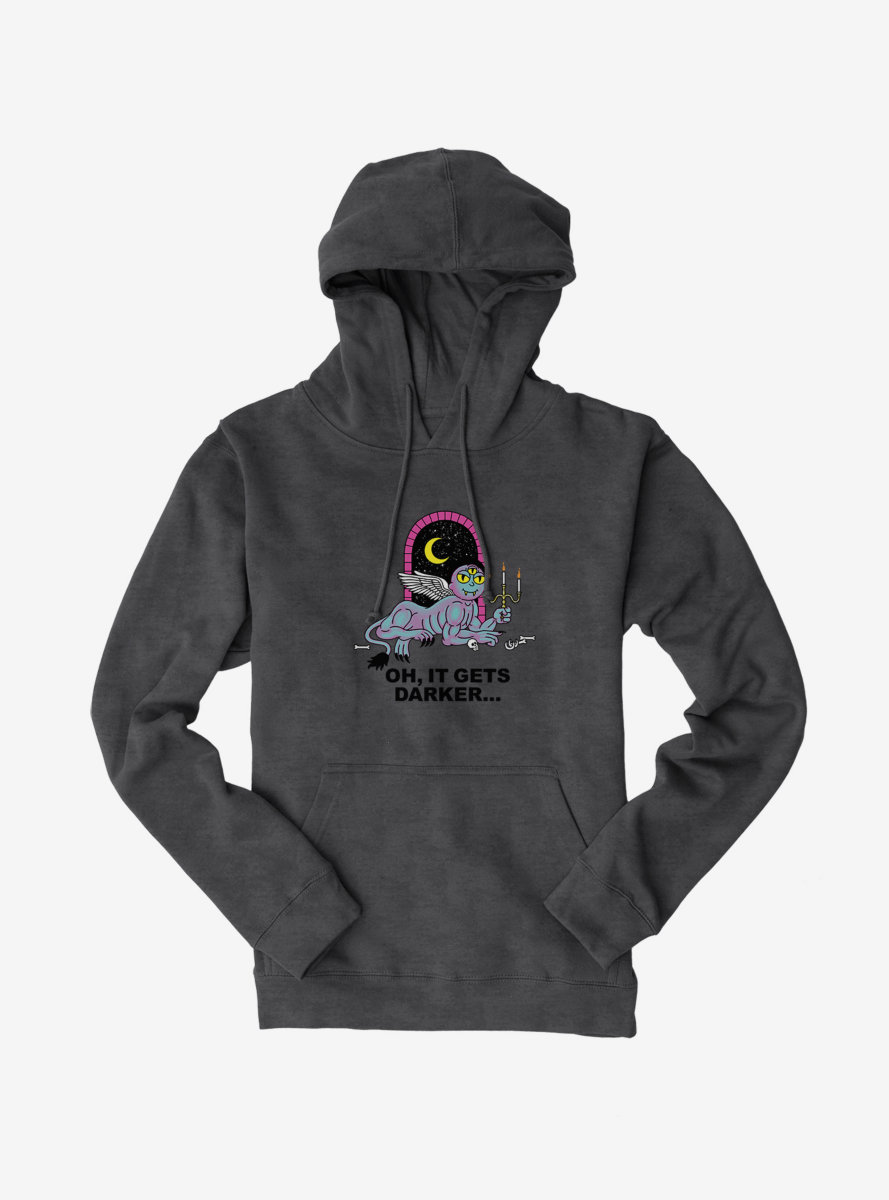 Rick And Morty It Gets Darker Hoodie