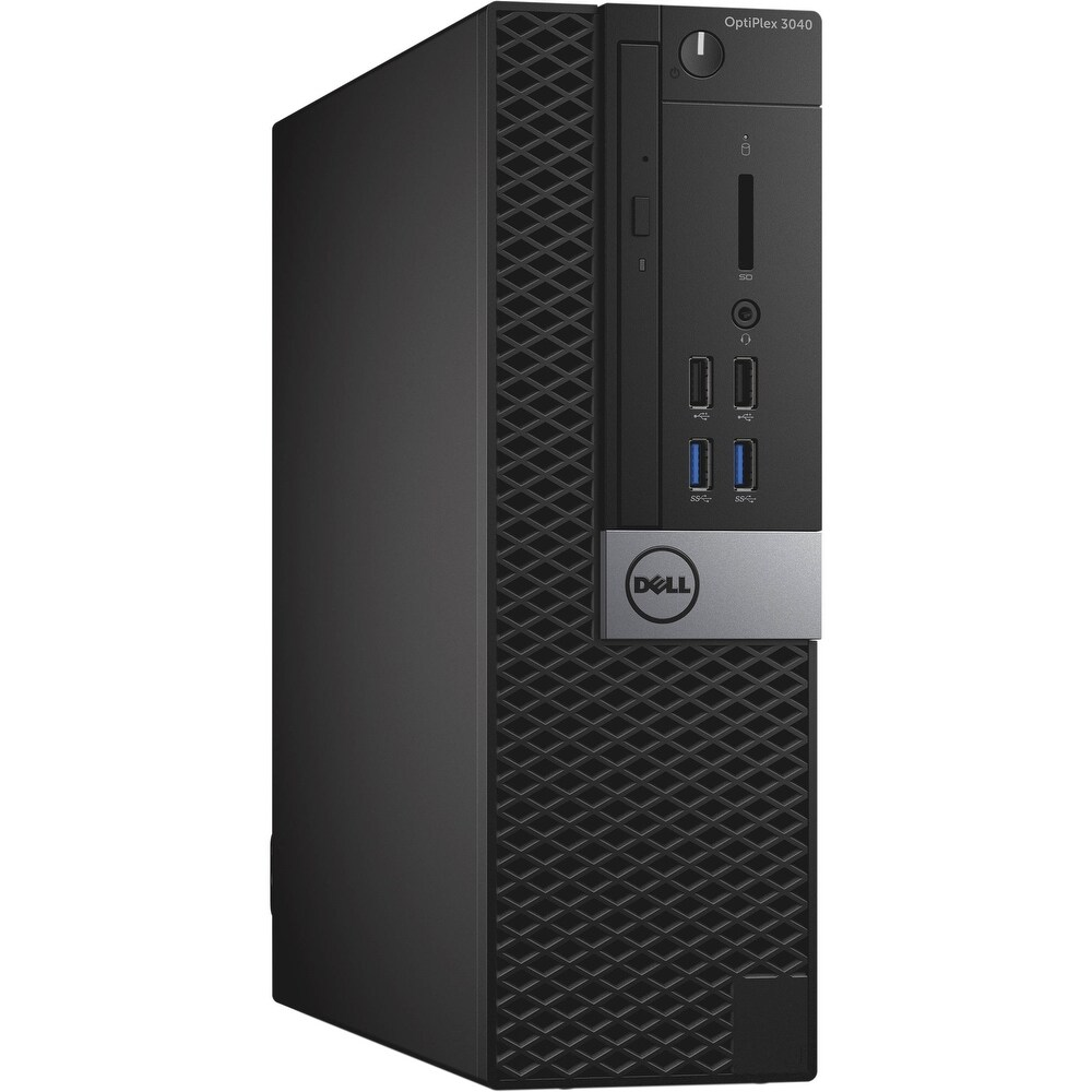 Dell Optiplex 3040 16GB 256GB SSD Intel Core i5-6500 X43.2GHz Win10,Black(Certified Refurbished) (16 GB - Black - 250-299 GB)