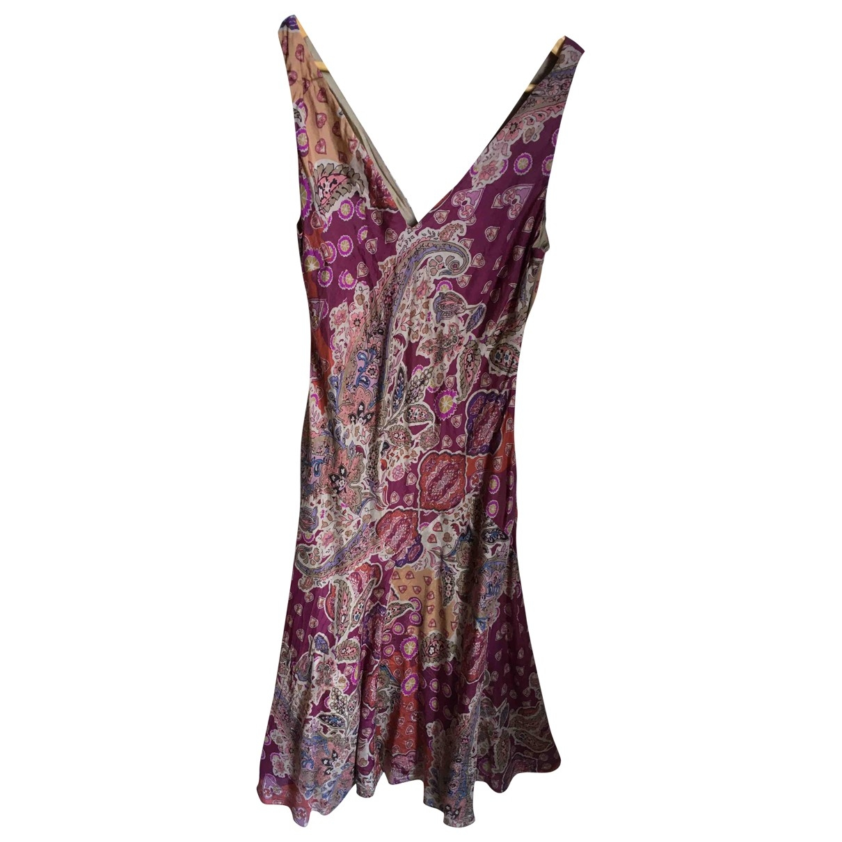 Lauren Ralph Lauren \N Kleid in  Rosa Seide