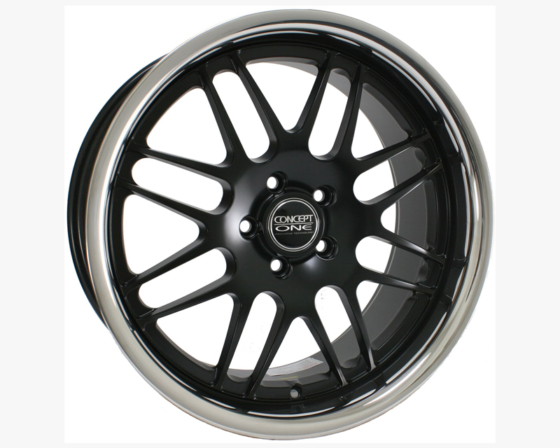 Concept One C701 1985 18 5D CMBK RS-8 Matte Black Wheel 19x8.5 5x120 18mm