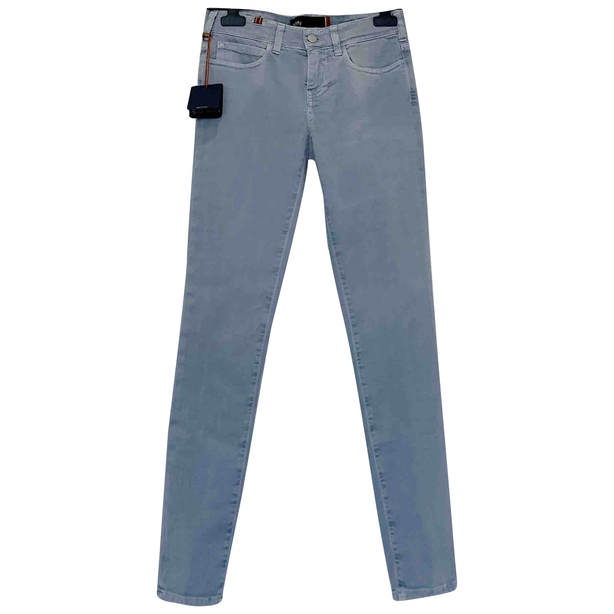 Notify \N Blue Cotton - elasthane Jeans for Women 25 US