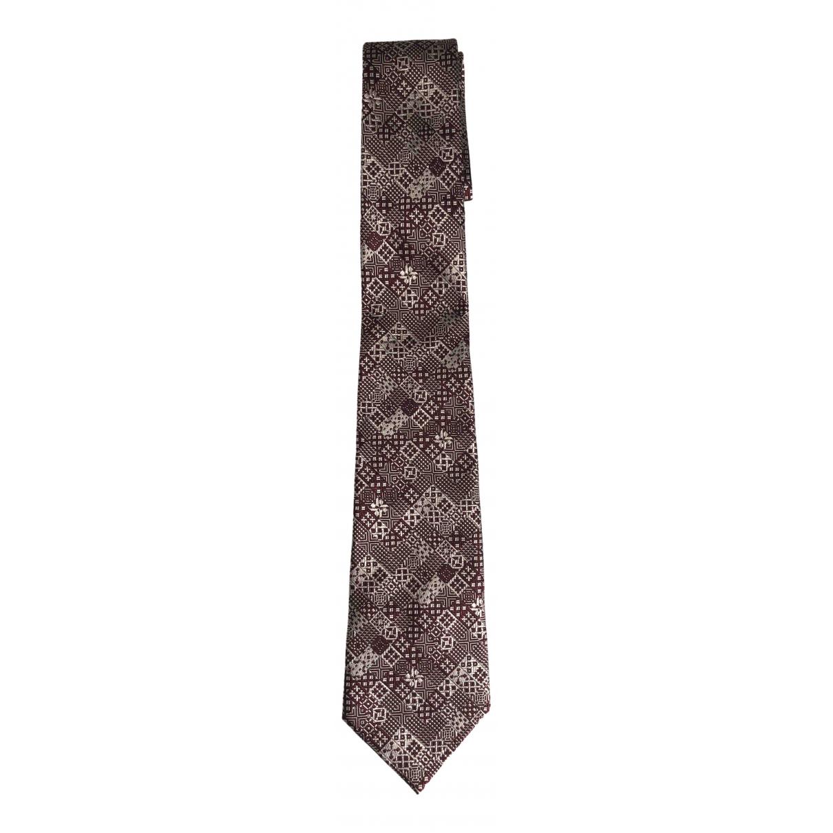 Bottega Veneta N Brown Silk Ties for Men N