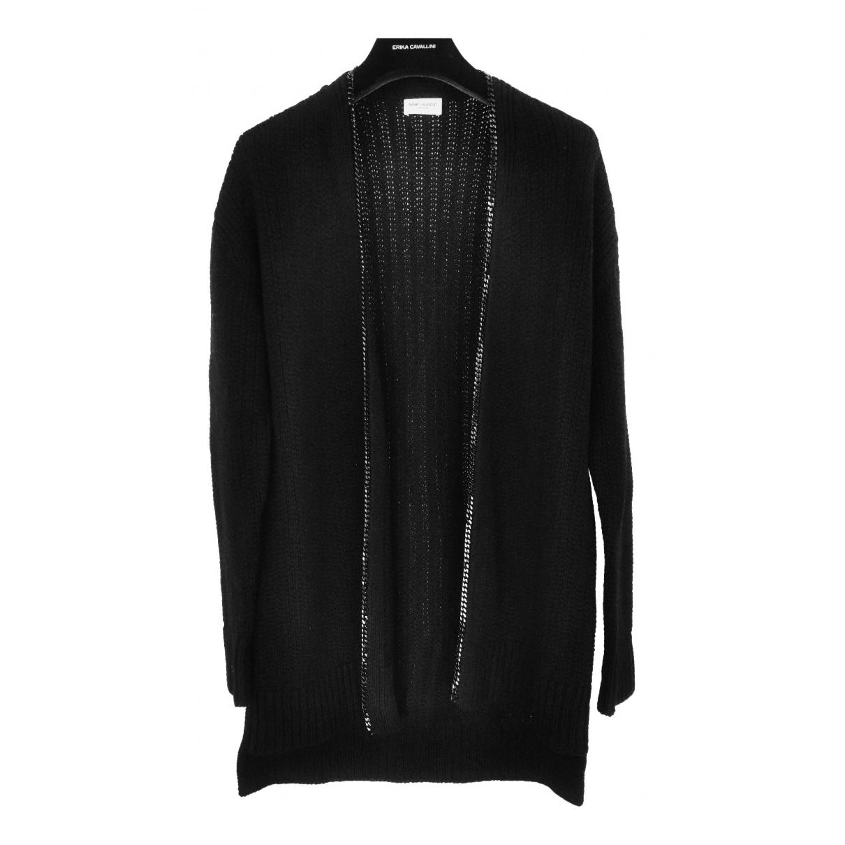 Saint Laurent \N Black Wool Knitwear & Sweatshirts for Men S International
