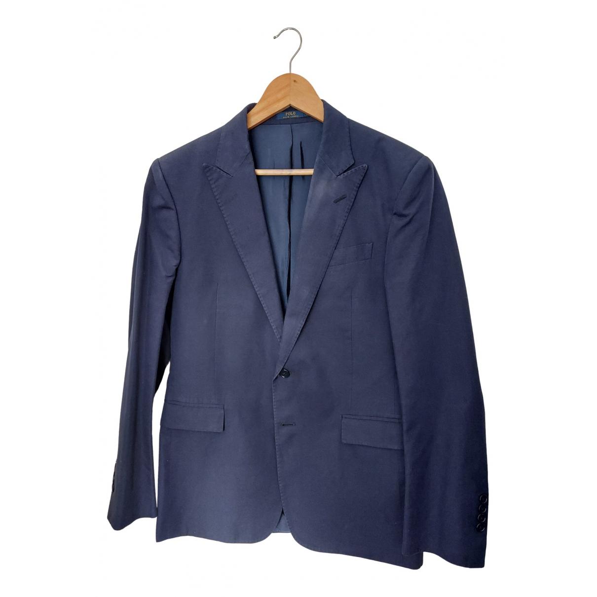 Polo Ralph Lauren \N Anzuege in  Blau Baumwolle