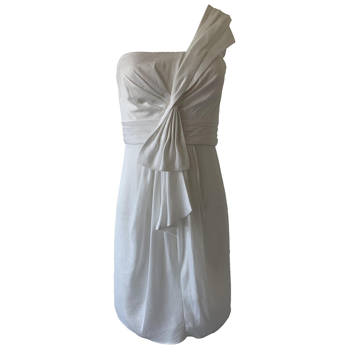 Bcbg Max Azria - Robe   pour femme - blanc