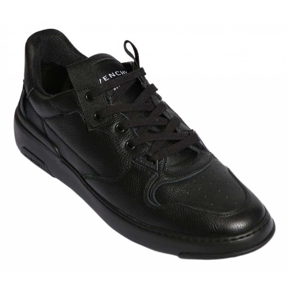 Givenchy \N Black Leather Trainers for Men 44 EU