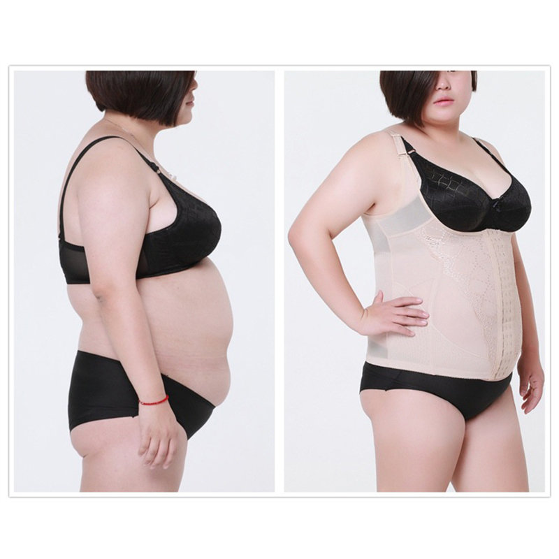 Body Shaping Underwear Women Plus Size Waist Shaping Corset Supporting Chest Slimming Abdomen Belt