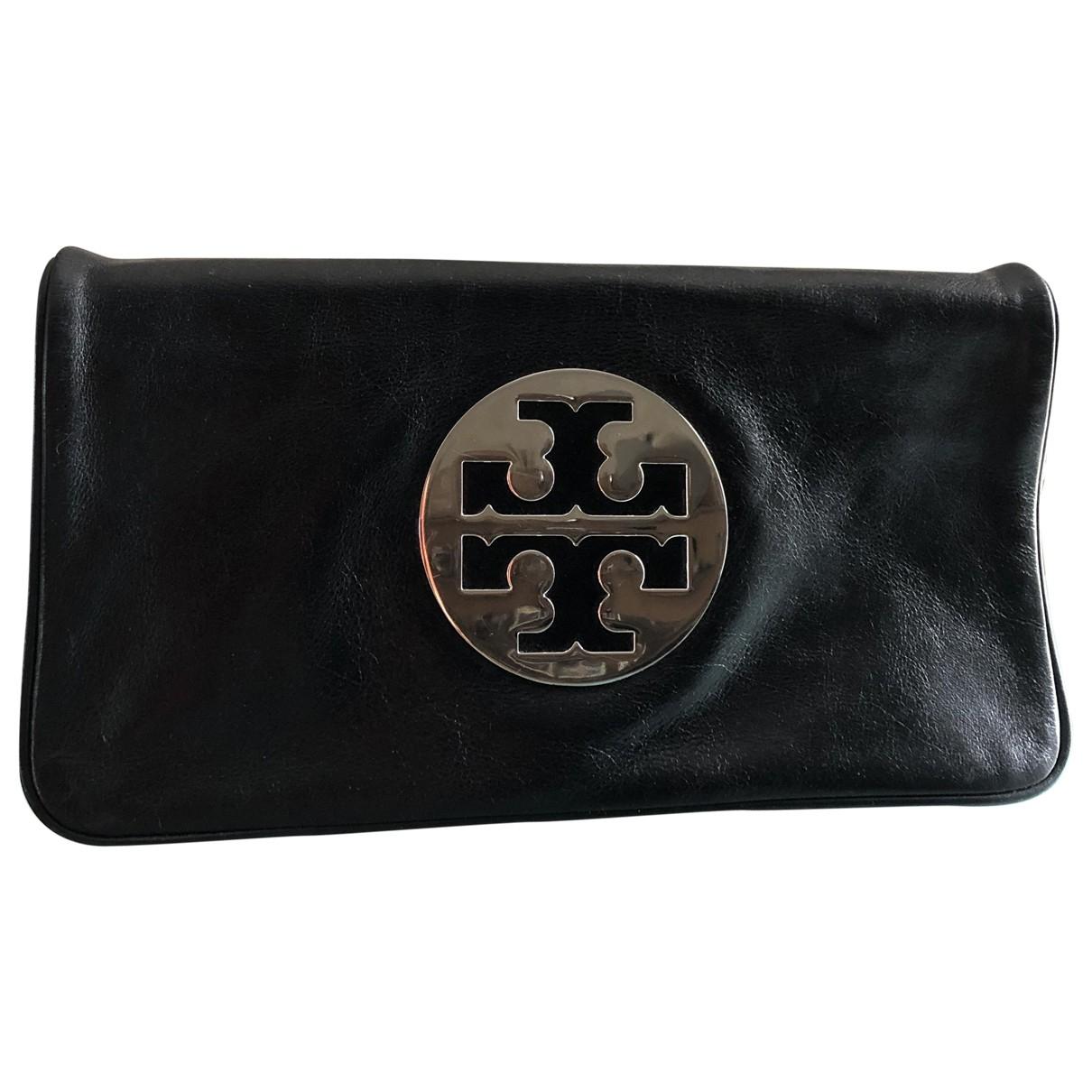 Tory Burch - Pochette   pour femme en cuir - noir