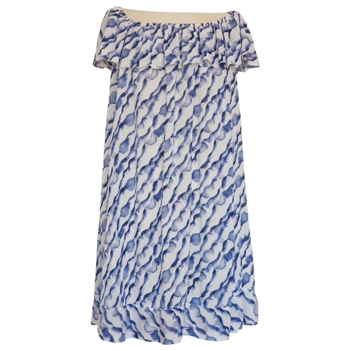 Ba&sh \N Kleid in  Blau Viskose