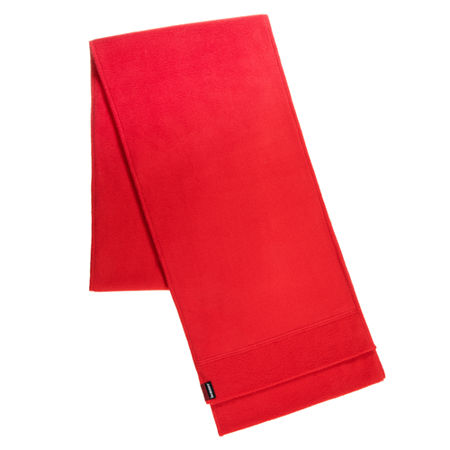 Isotoner Cold Weather Stretch Fleece Scarf with SmartDRI, One Size , Red