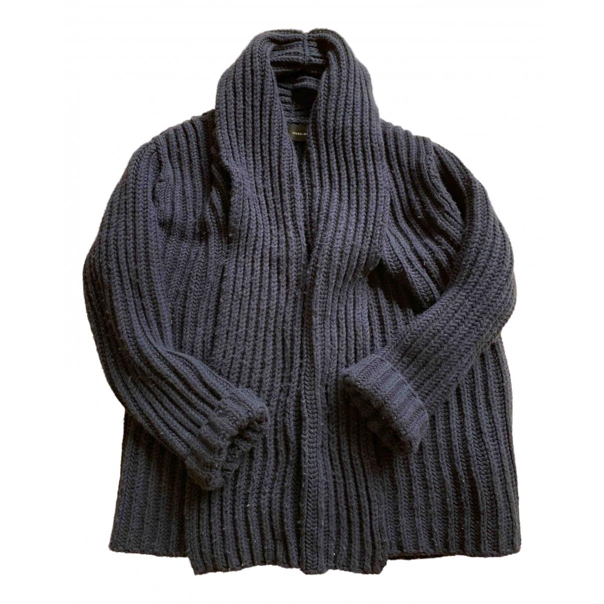 Isabel Benenato \N Blue Wool Knitwear for Women 40 FR