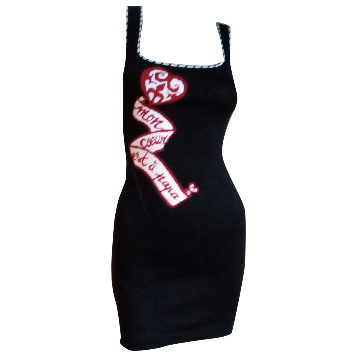 Alaia - Robe   pour femme en coton - noir
