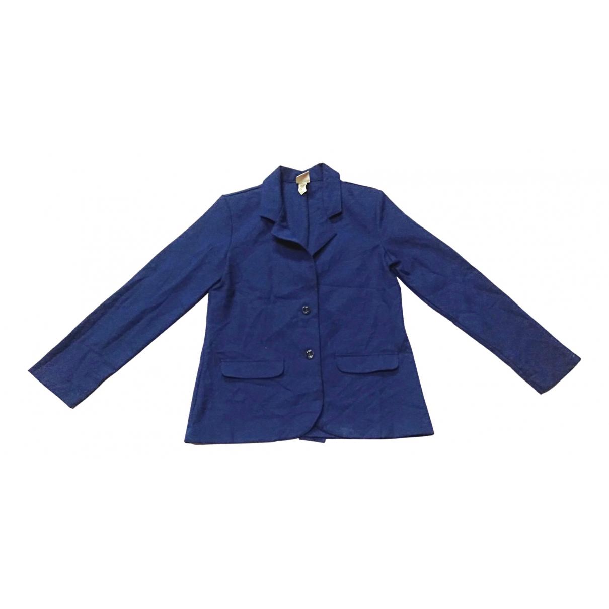 Wrangler \N Jacke in  Blau Baumwolle