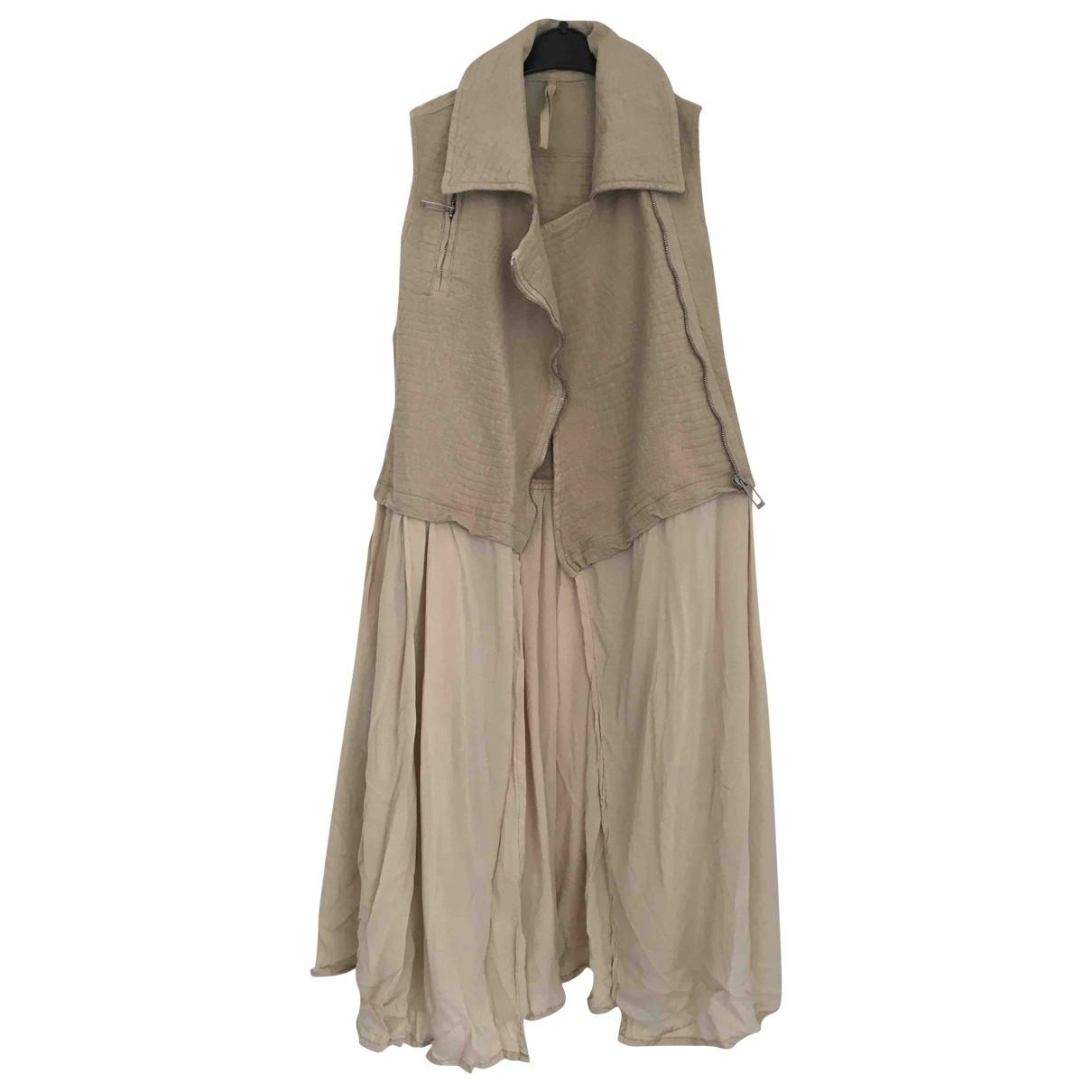 Damir Doma \N Pullover in  Beige Baumwolle