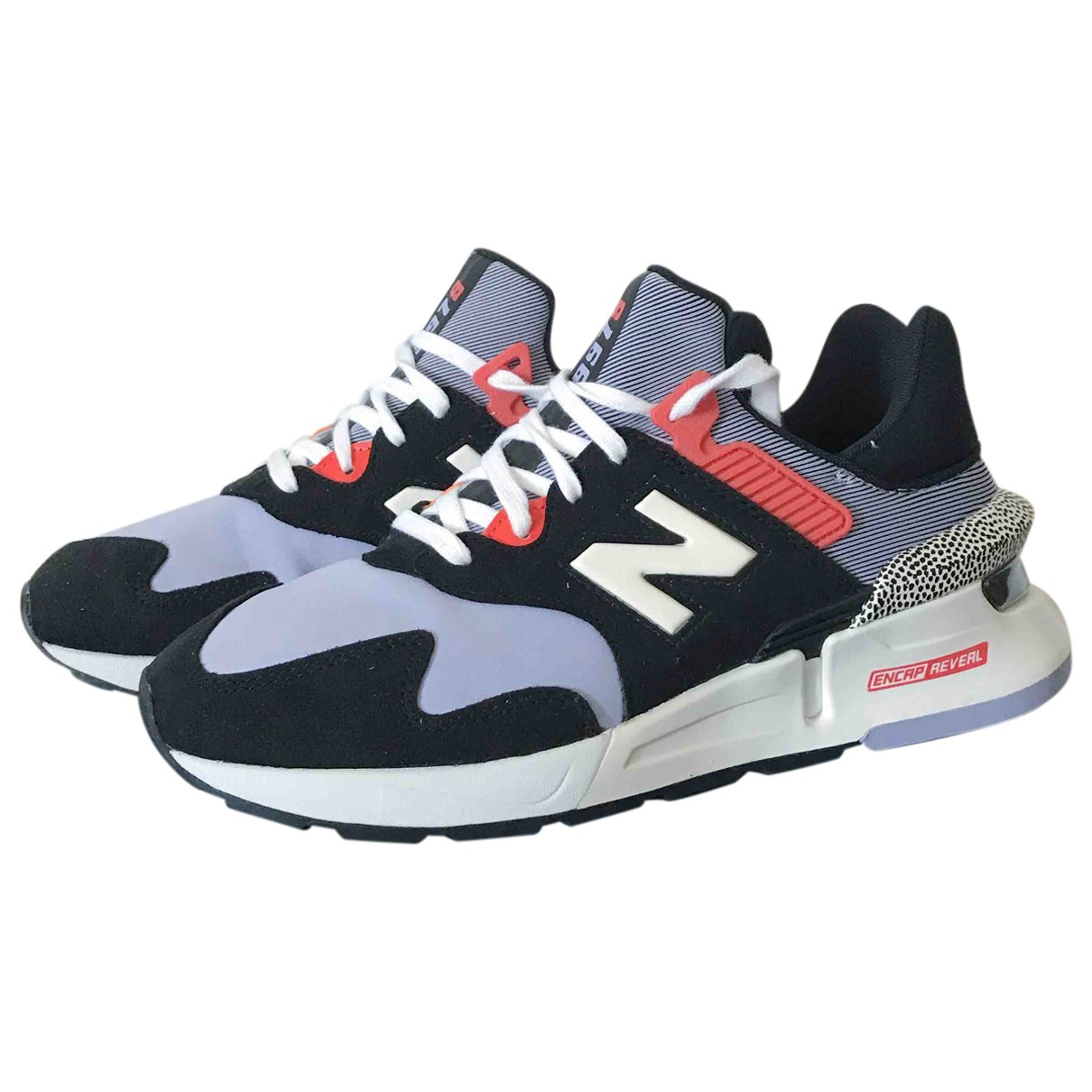 New Balance - Baskets   pour femme en suede - multicolore