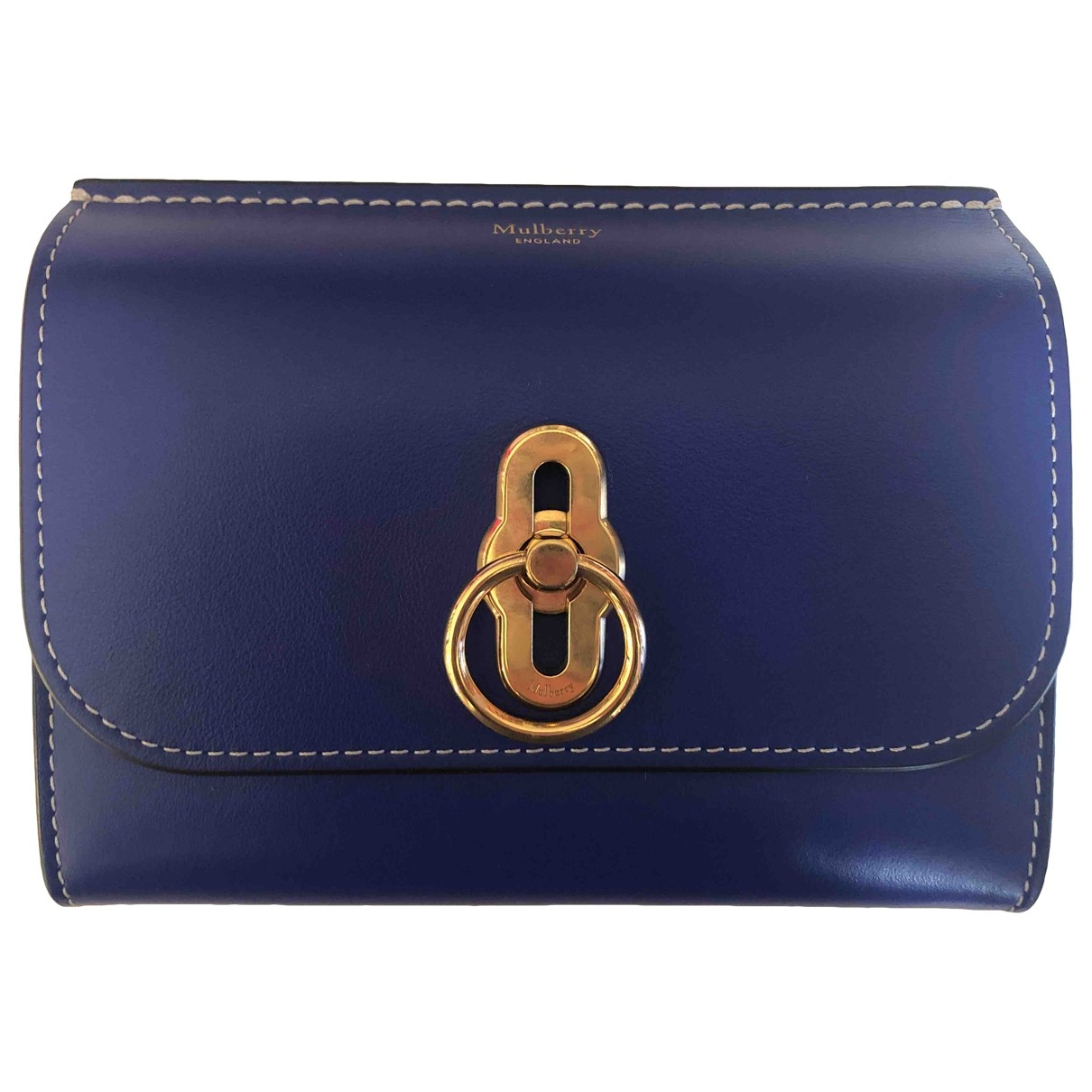 Mulberry \N Blue Leather Purses, wallet & cases for Women \N