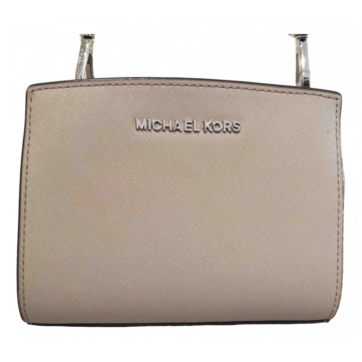 Michael Kors - Sac a main   pour femme en cuir - blanc