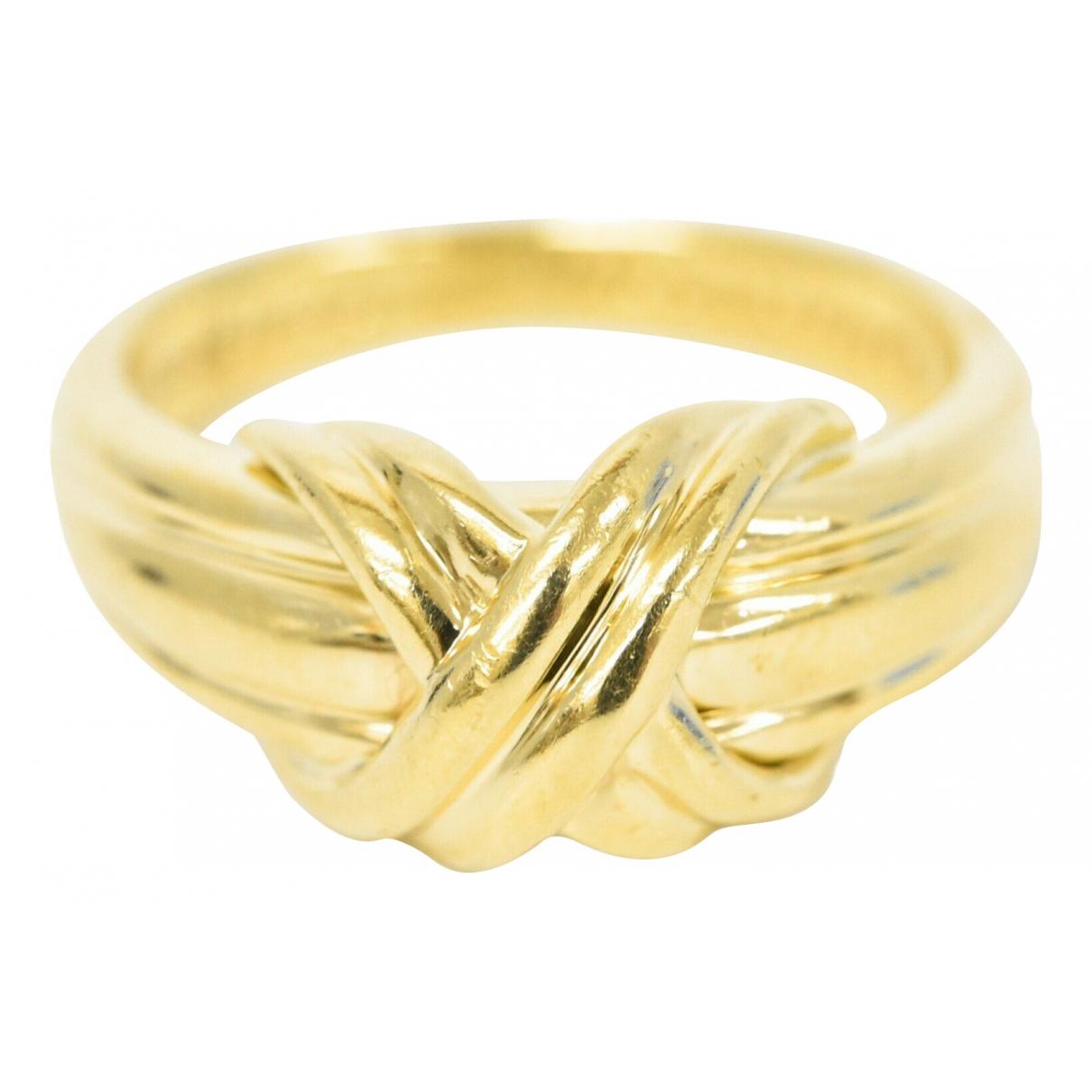 Tiffany & Co - Bague   pour femme en or jaune - jaune