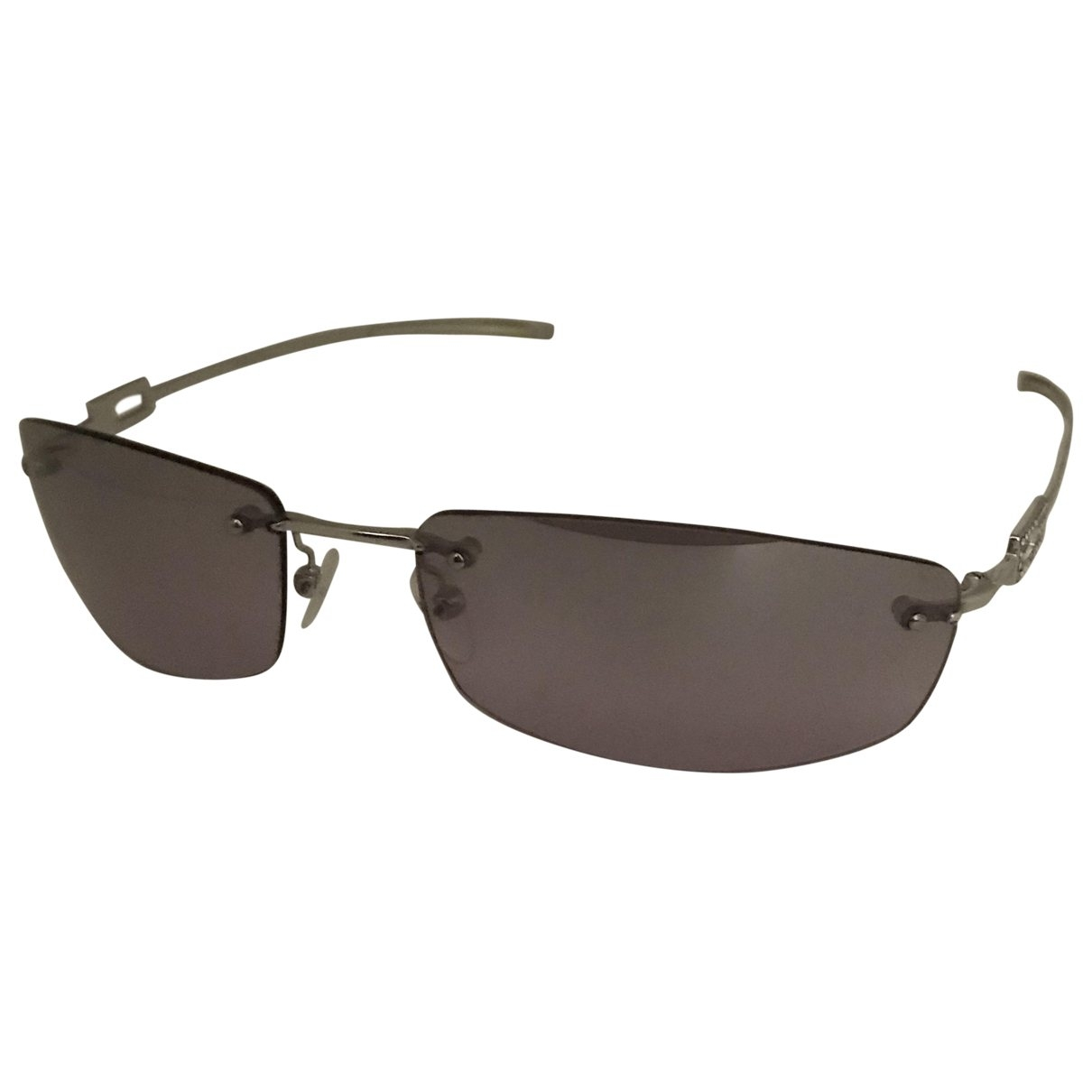 Gucci \N Sonnenbrillen in  Lila Metall