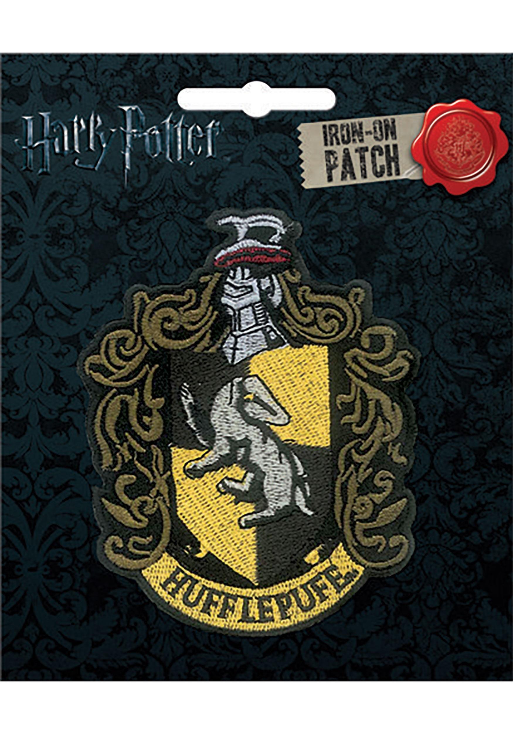 Hufflepuff Iron-On Harry Potter Patch