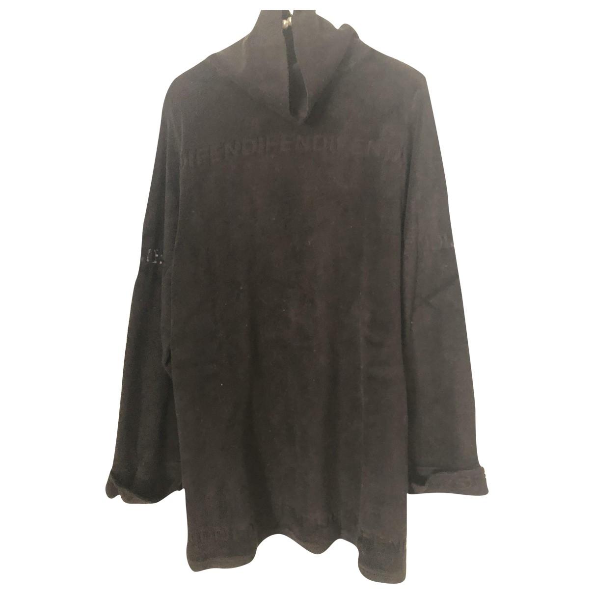 Fendi - Pull   pour femme en coton - noir