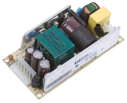 XP Power , 80W AC-DC Converter, 12V dc, Open Frame