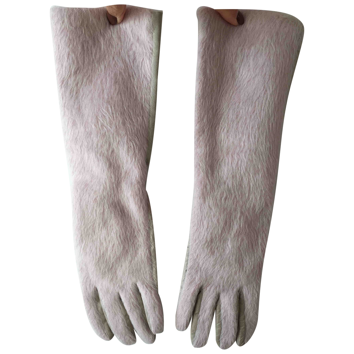 Dondup \N Handschuhe in  Rosa Leder