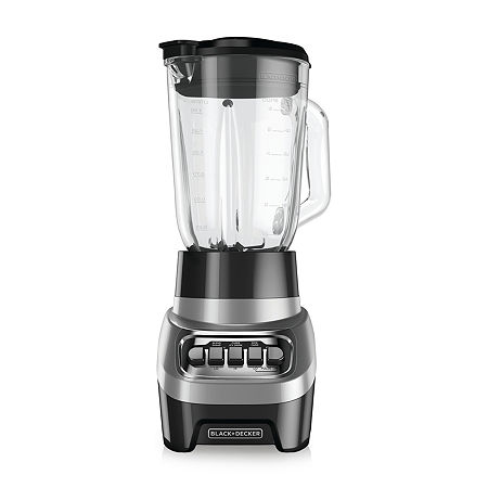 Black+Decker Power Crush Blender, One Size , Silver