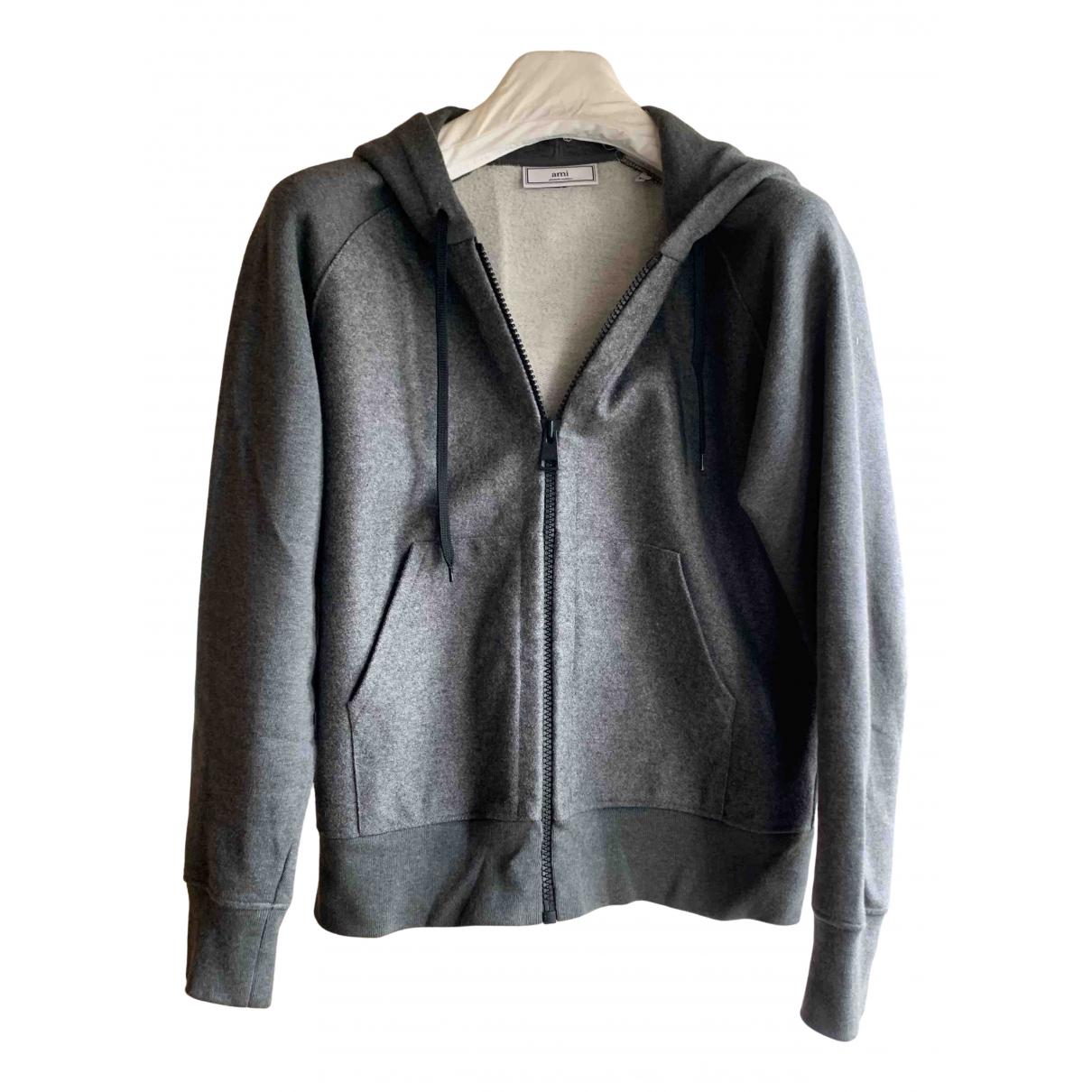 Ami - Pulls.Gilets.Sweats   pour homme en laine - gris
