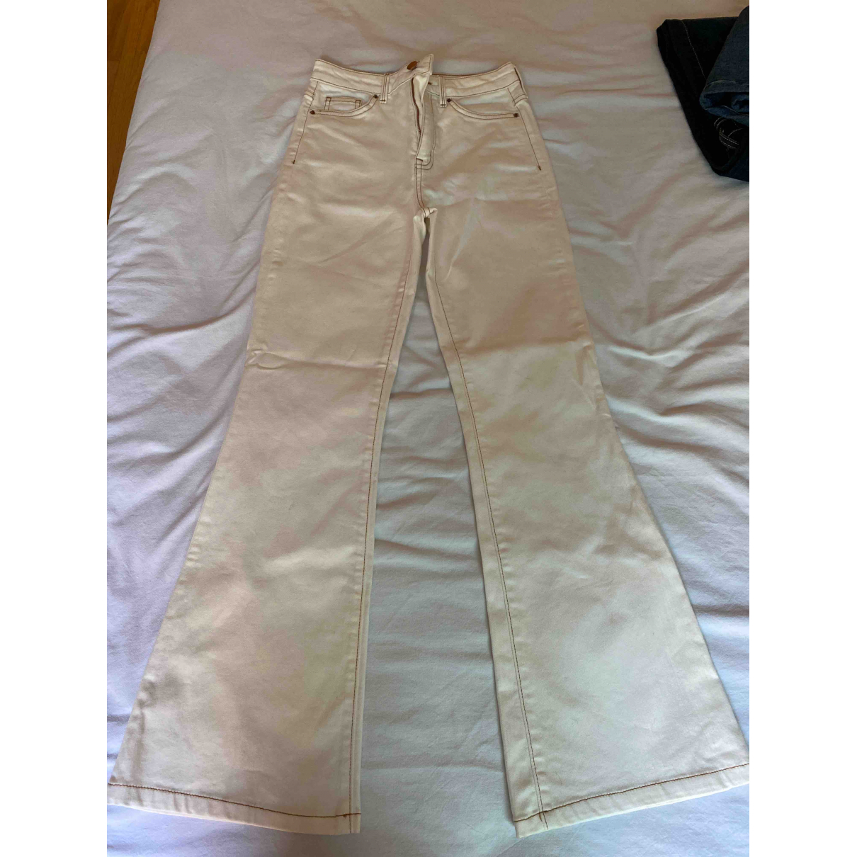 Tommy Hilfiger \N White Cotton - elasthane Jeans for Women 26 US