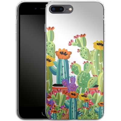 Apple iPhone 7 Plus Silikon Handyhuelle - Cacti Land von Mukta Lata Barua