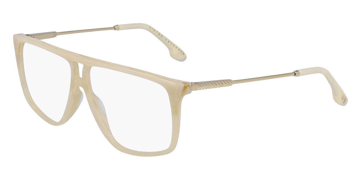 Victoria Beckham VB2611 104 Women's Glasses White Size 56 - Free Lenses - HSA/FSA Insurance - Blue Light Block Available