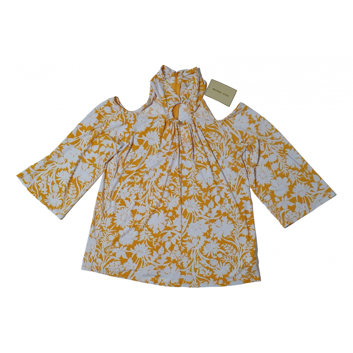 Michael Kors \N Yellow  top for Women L International
