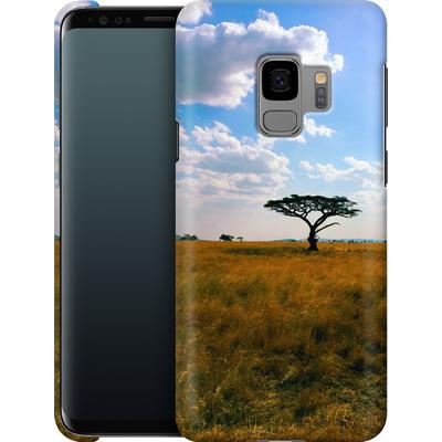 Samsung Galaxy S9 Smartphone Huelle - Tanzanian Savanna von Omid Scheybani