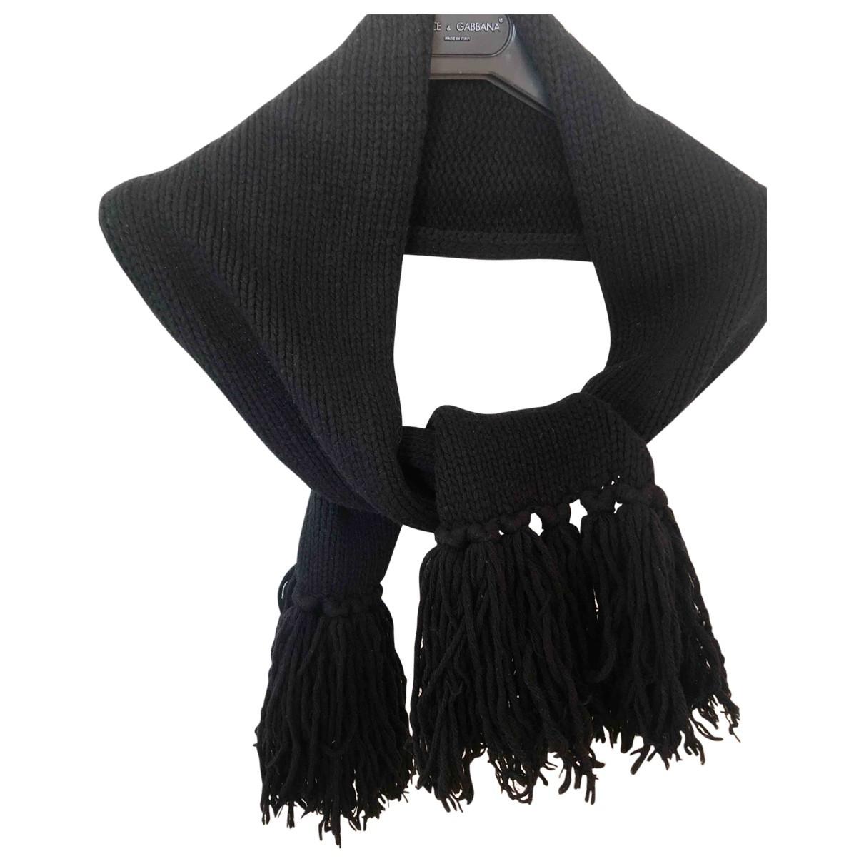 Dior \N Schal in  Schwarz Wolle