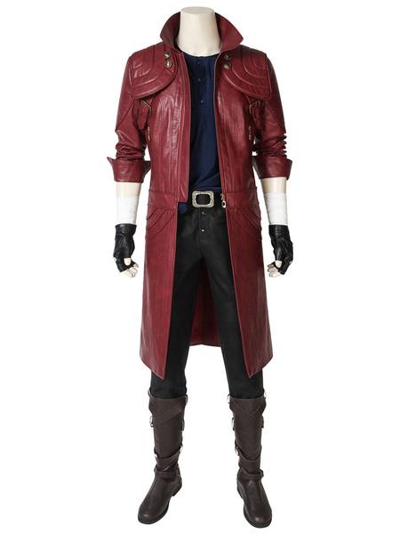 Milanoo Devil May Cry 5 Dante Halloween Cosplay Costume