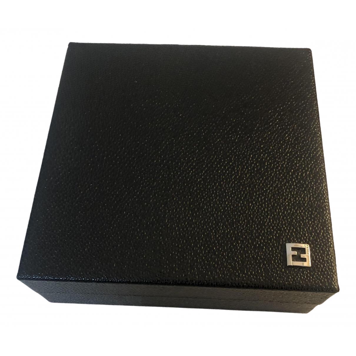 Fendi - Objets & Deco   pour lifestyle en cuir - noir