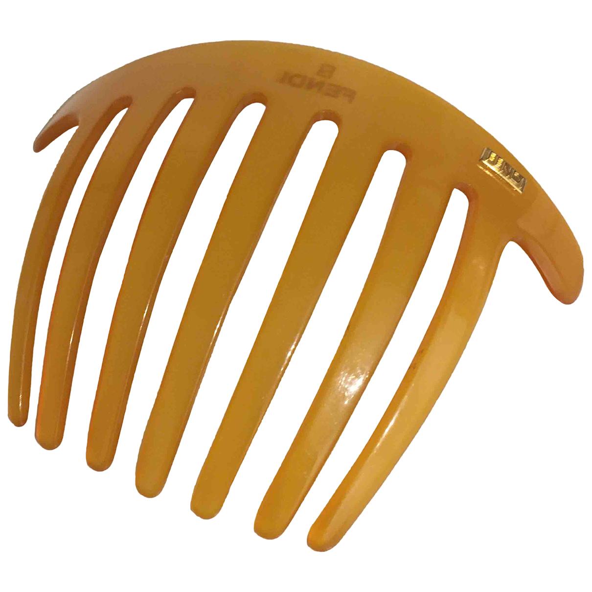 Fendi \N Haarschmuck in  Kamel Kunststoff