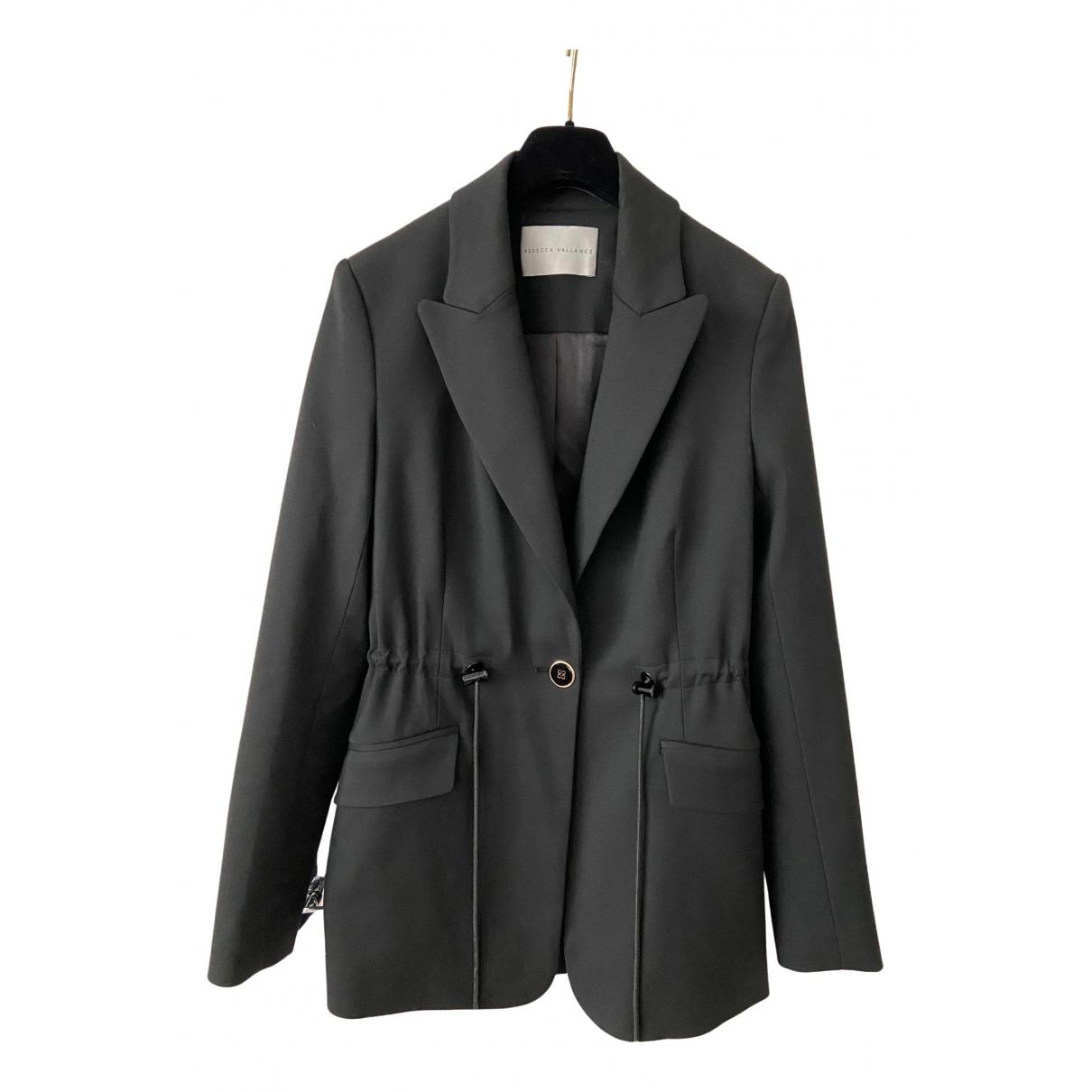 Rebecca Vallance N Black jacket for Women 8 UK