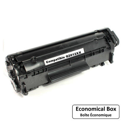Compatible HP 12X Q2612XX cartouche de toner noire - boite economique