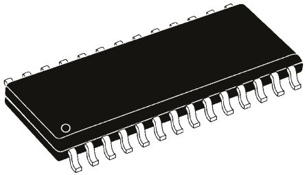 Microchip PIC24FJ128GA202-I/SO Microcontroller, PIC24FJ, 28-Pin SOIC (2)