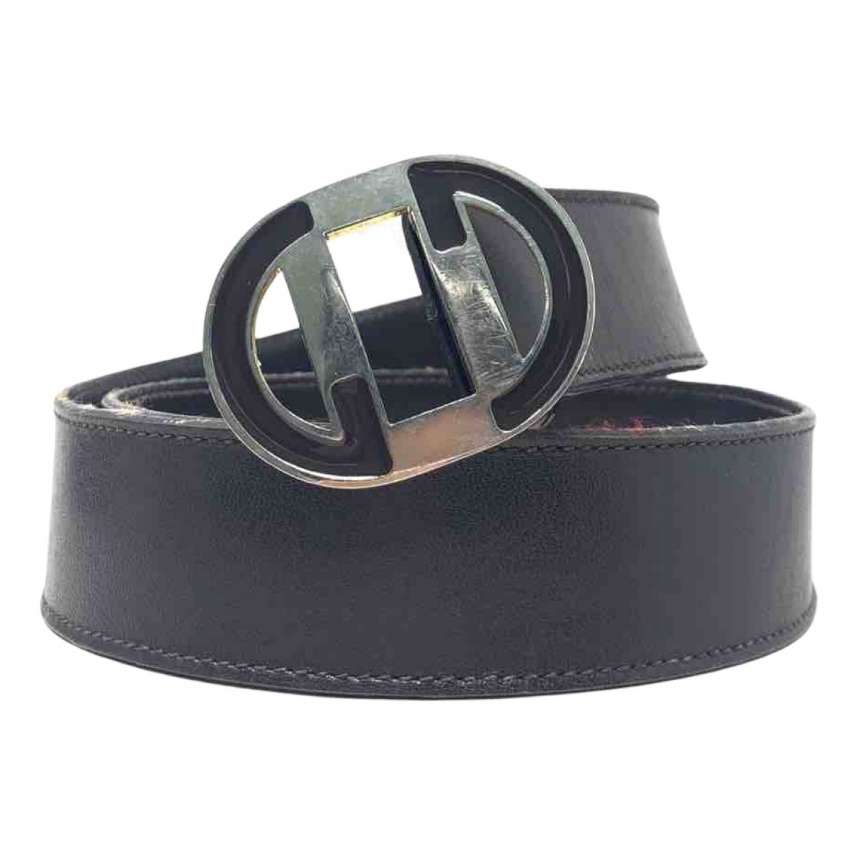 Gucci N Brown Leather belt for Women 70 cm