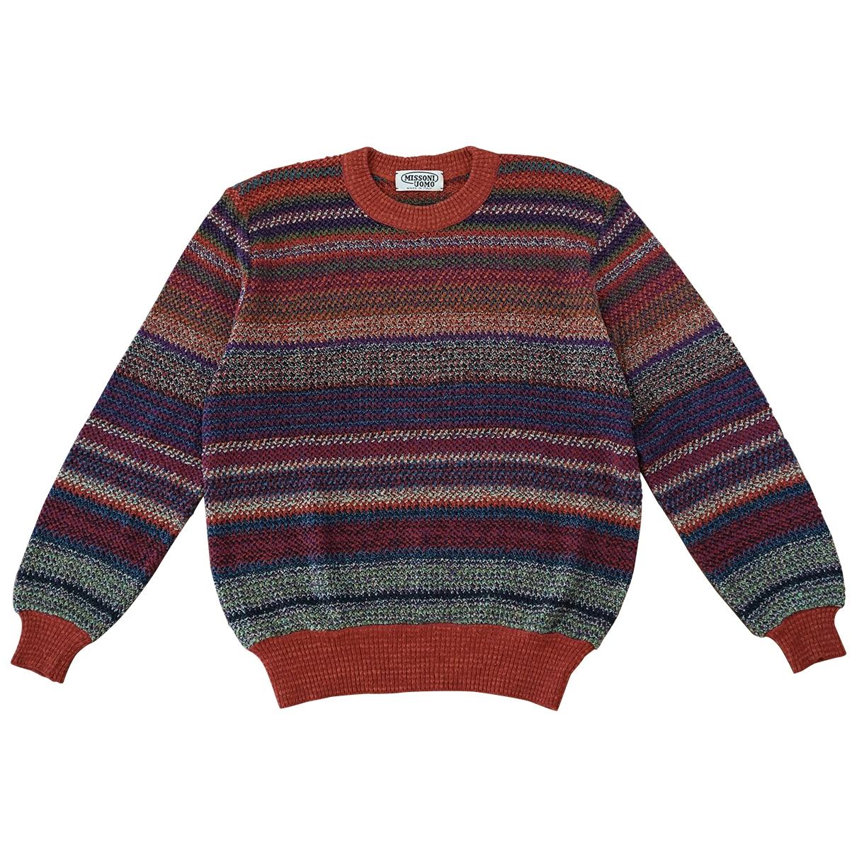 Missoni \N Pullover.Westen.Sweatshirts  in  Bunt Leinen