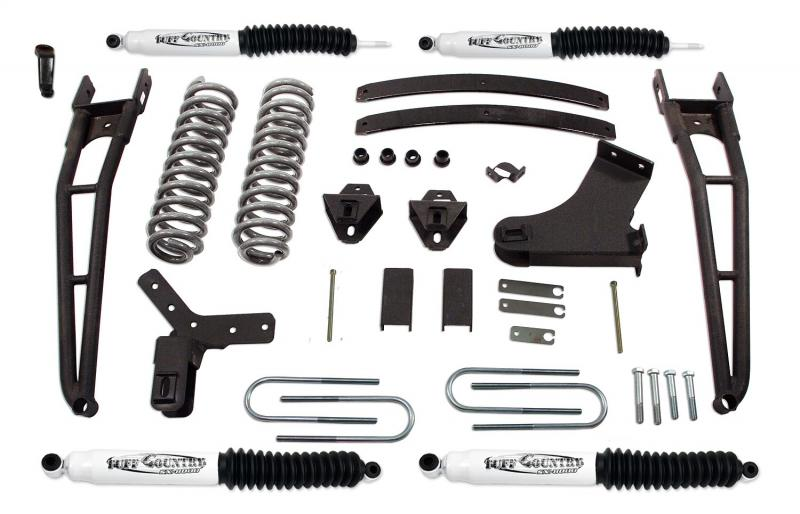 Tuff Country 24865KN Complete Kit (w/SX8000 Shocks)-4in. Ford Ranger 1983-1997