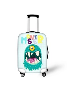 One Eye Monster Waterproof Luggage Suitcase Protector for 19 20 21