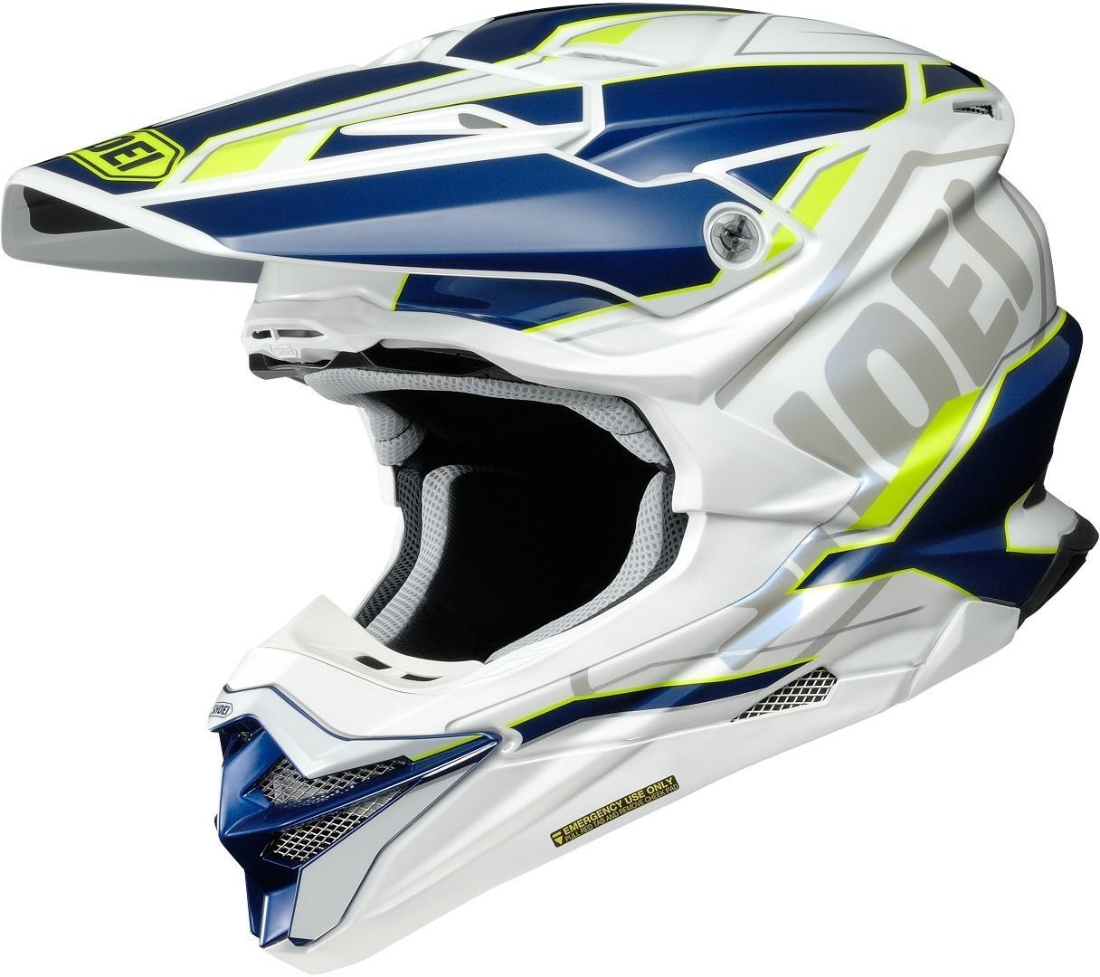 Shoei VFX-WR Allegiant TC-3 Casco Motocross M